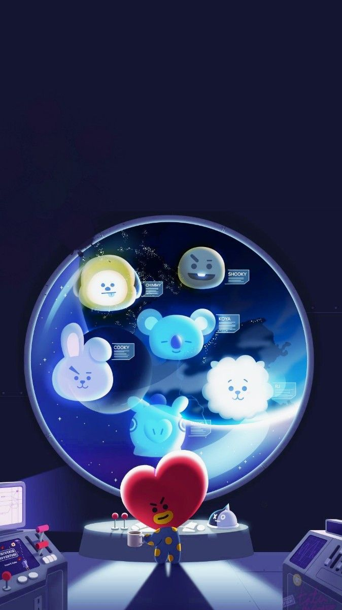 Bt21 Wallpaper Fondos De Pantalla T Wallpaper Bts