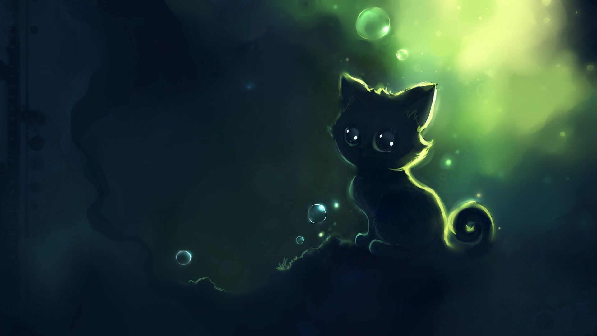 Cute Black Cat Cartoon Wallpapers Top Free Cute Black Cat Cartoon Backgrounds Wallpaperaccess