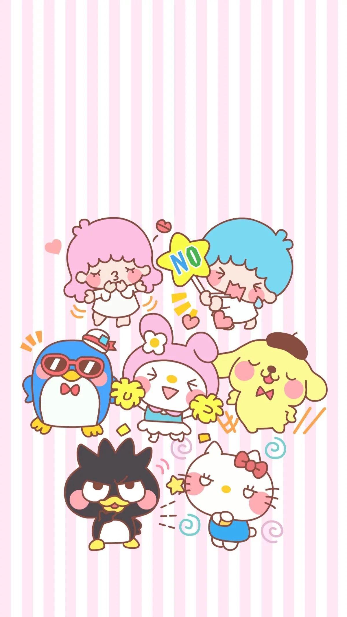 Cute Sanrio Wallpapers - Top Free Cute Sanrio Backgrounds ...