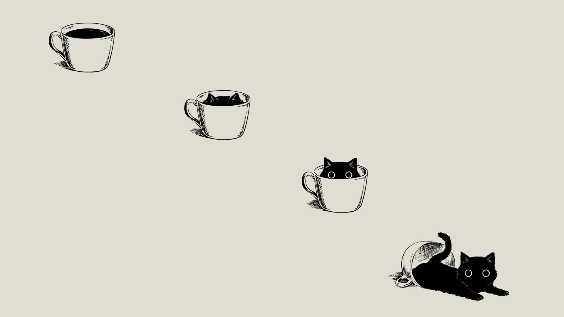 Minimalist Cat Wallpapers Top Free Minimalist Cat Backgrounds Wallpaperaccess