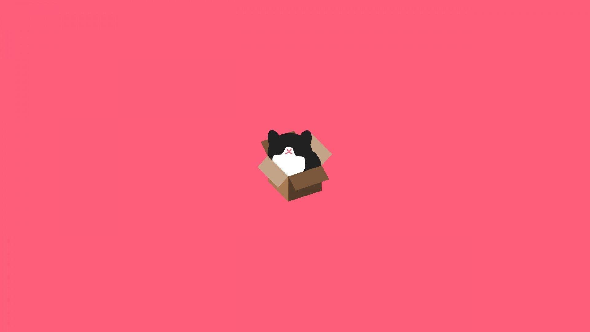 Minimalist Cat Wallpapers - Top Free Minimalist Cat ...