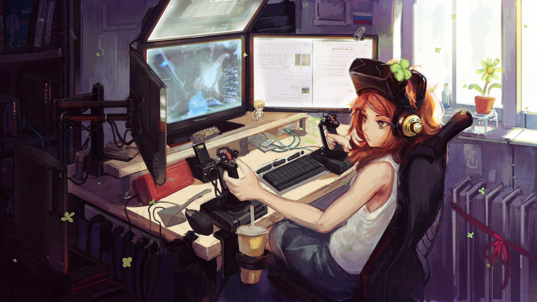 Gamer girl anime 24 Best