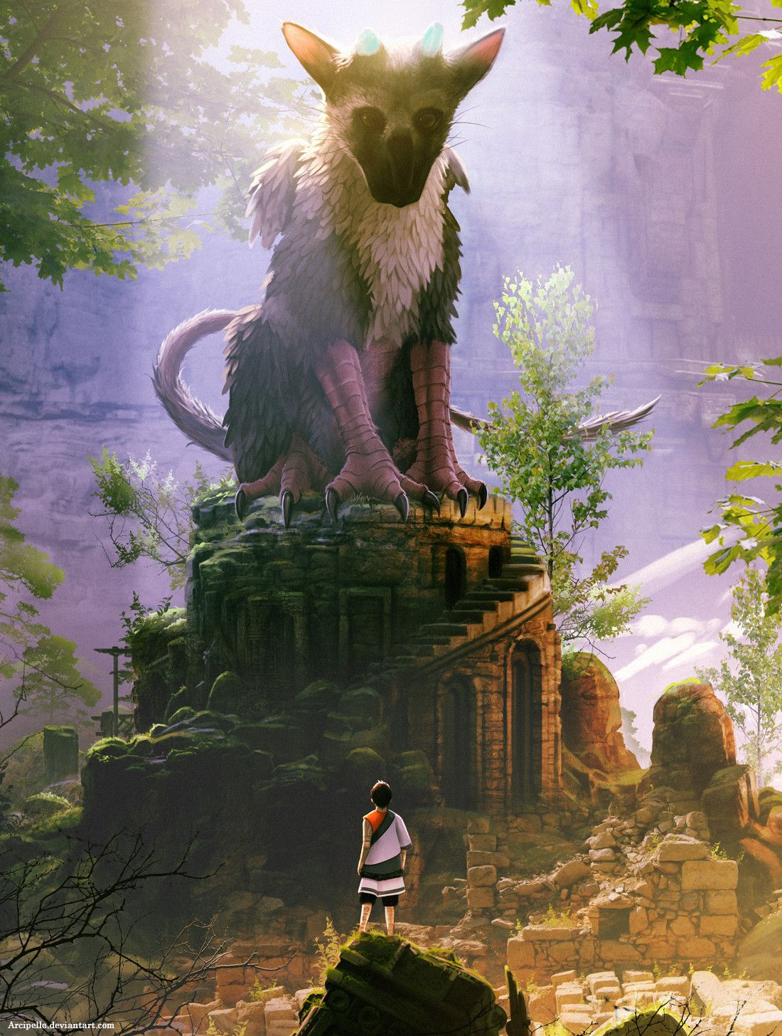 The Last Guardian Phone Wallpapers Top Free The Last Guardian Phone Backgrounds Wallpaperaccess