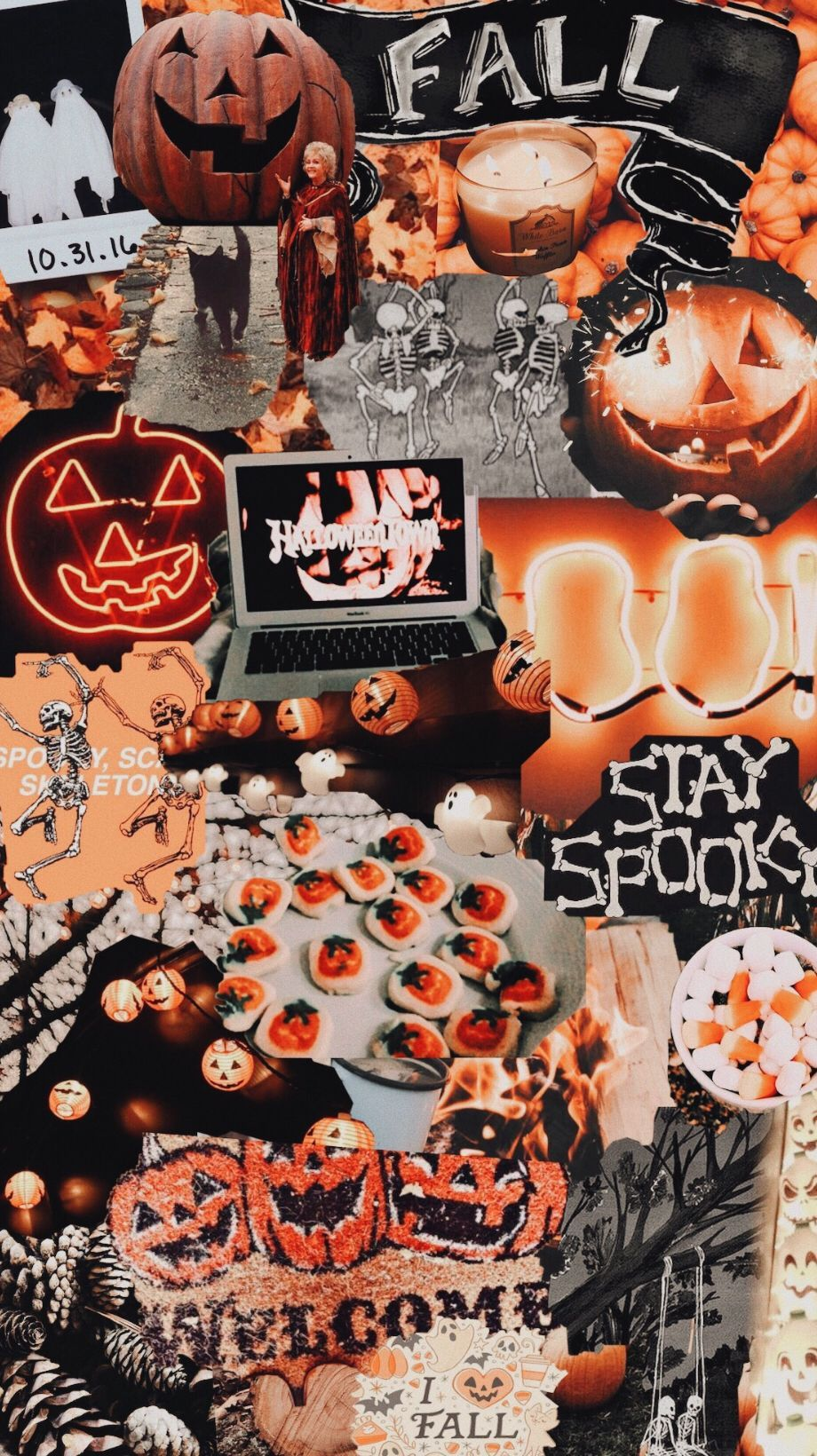 Halloween Aesthetic Girl Wallpapers Top Free Halloween Aesthetic Girl Backgrounds Wallpaperaccess