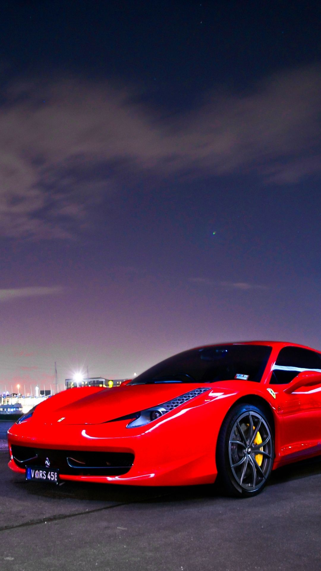 Iphone 6 Red Ferrari Wallpaper