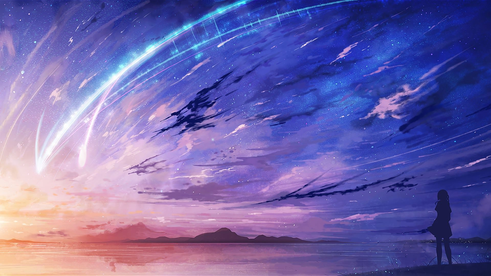 Your Name Anime Landscape Wallpapers Top Free Your Name Anime