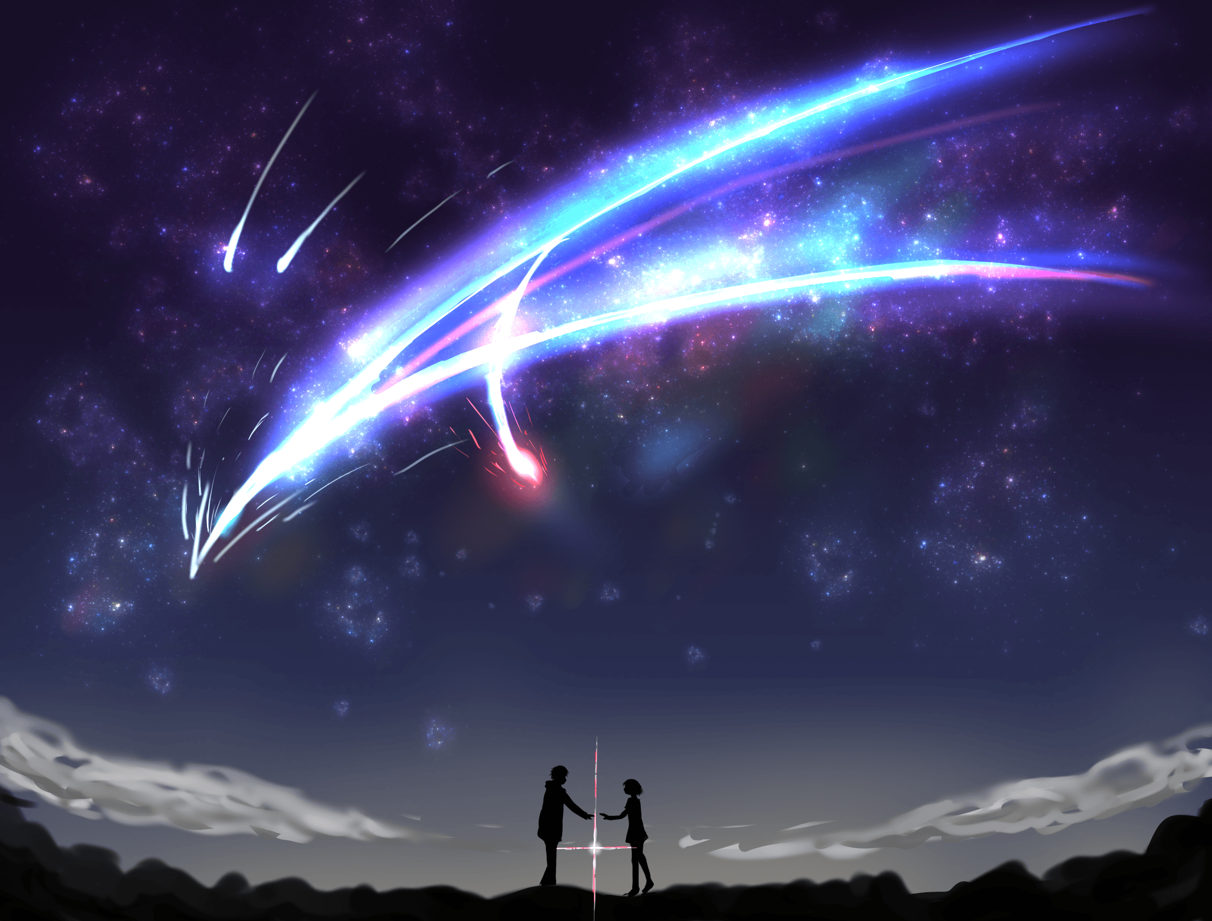 Your Name Anime Landscape Wallpapers Top Free Your Name Anime Landscape Backgrounds Wallpaperaccess