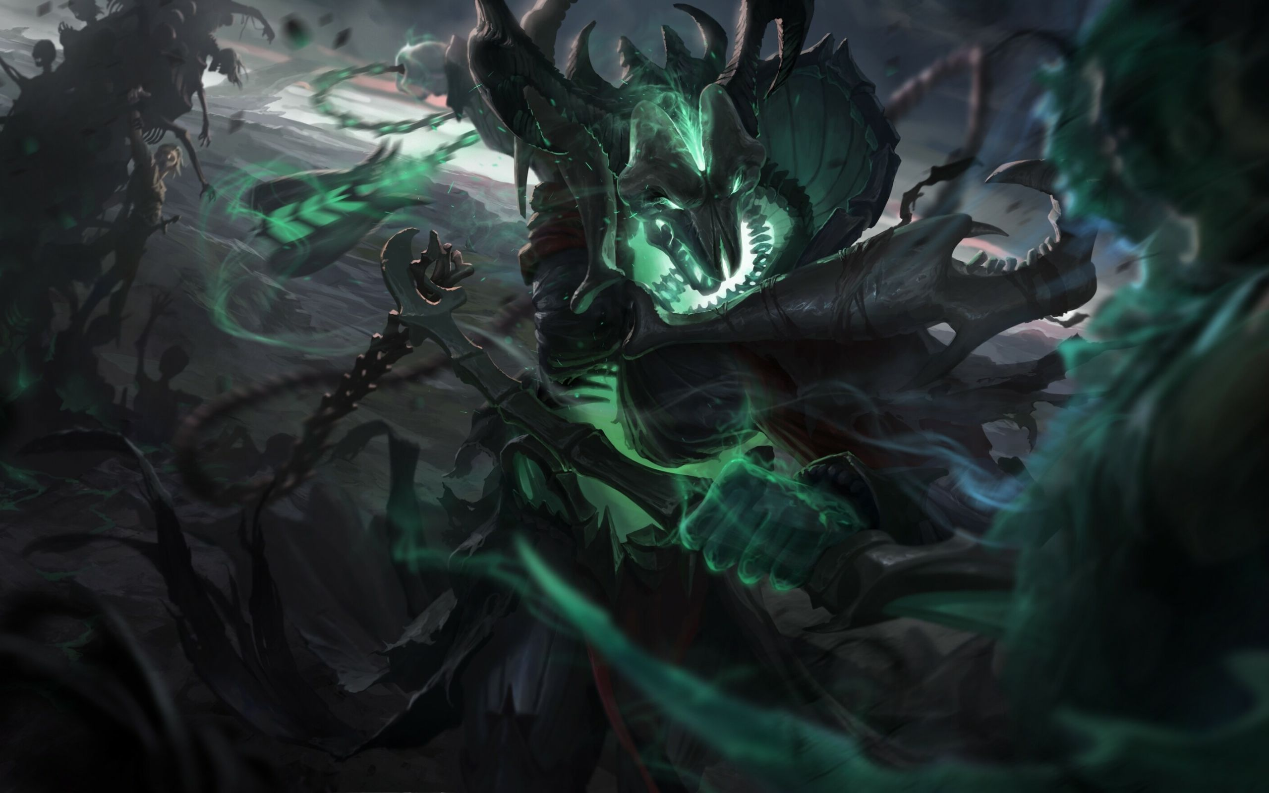 Thresh Wallpapers Top Free Thresh Backgrounds Wallpaperaccess