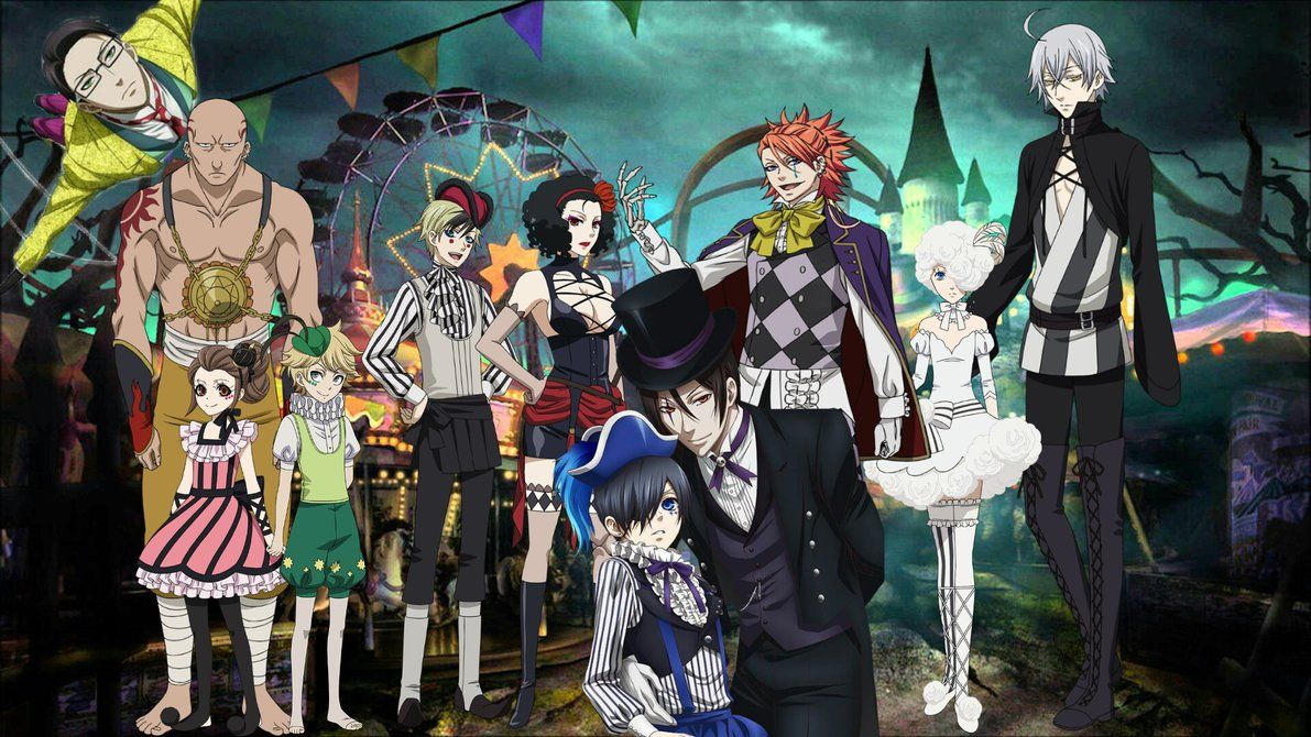 Black Butler Book Of Circus Wallpapers Top Free Black Butler