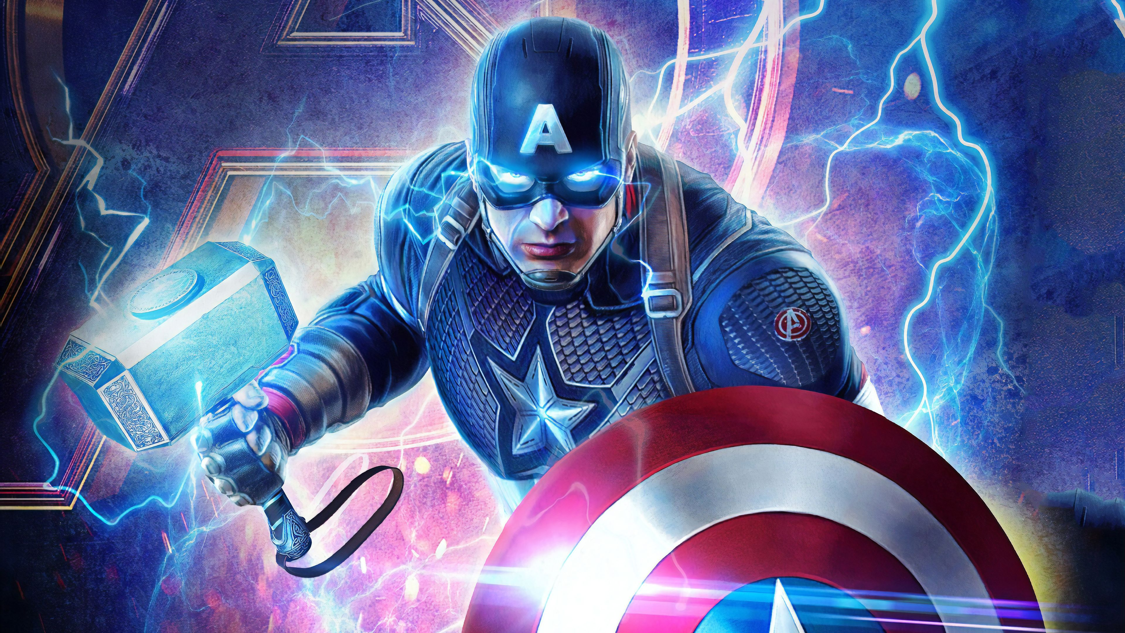 Captain America Endgame Wallpapers Top Free Captain America