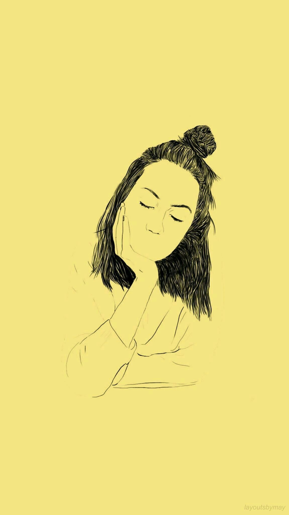 1151x2048 hình nền # màu vàng # tumblr # # thẩm mỹ tườngpaperiphoneblack