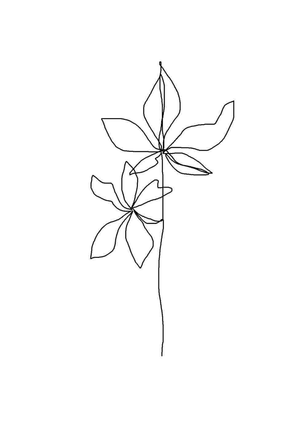 980x1381 đức tin Hoa Thẩm mỹ Tối giản Vẽ hình nền android