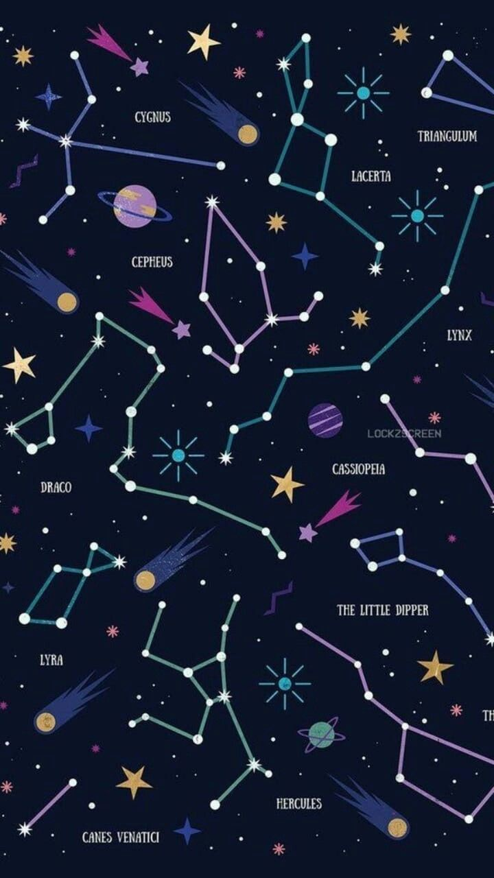 Aesthetic Constellation Wallpapers Top Free Aesthetic