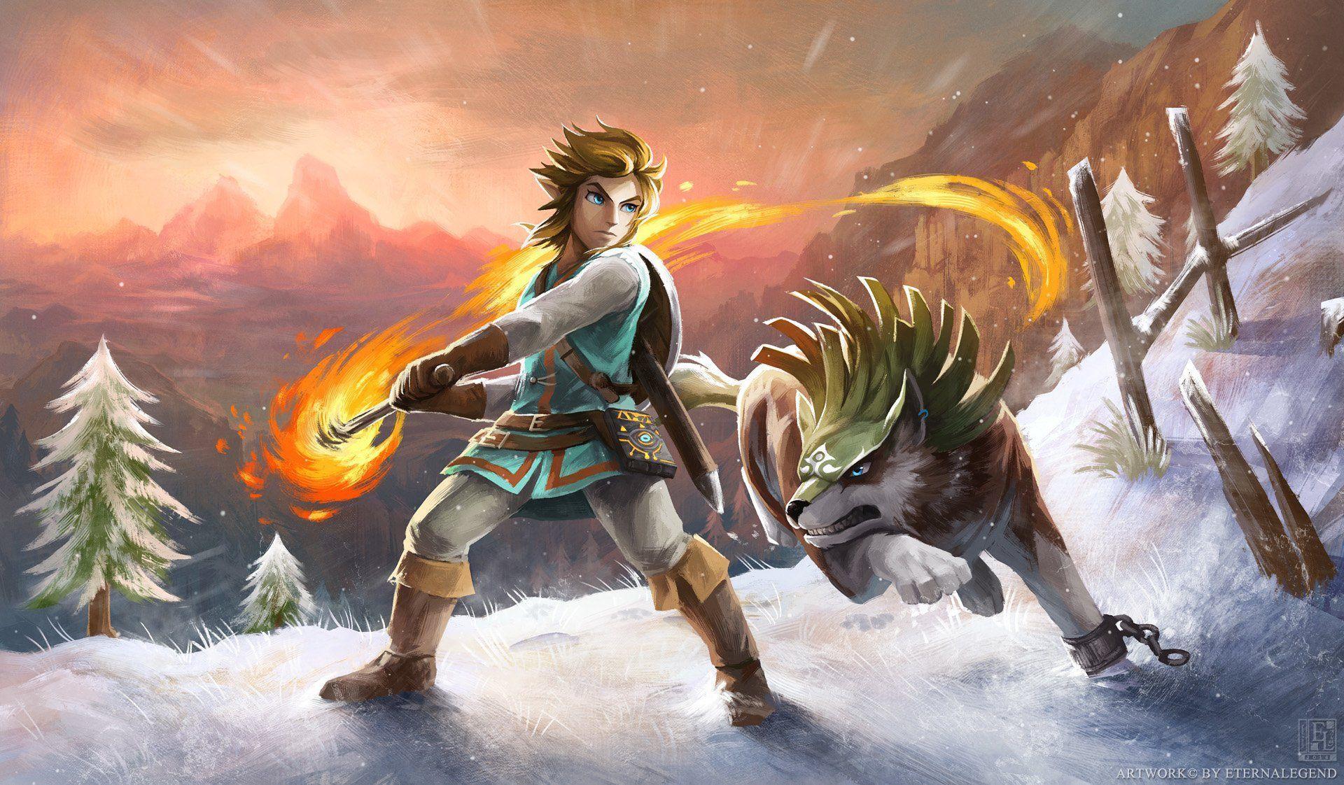 Zelda Botw Wallpapers Top Free Zelda Botw Backgrounds Wallpaperaccess