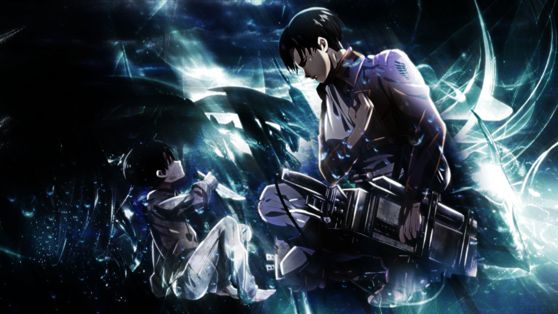 Attack On Titan Levi Wallpapers Top Free Attack On Titan Levi Backgrounds Wallpaperaccess