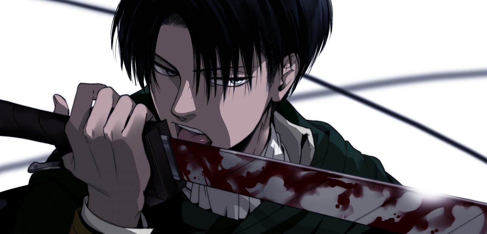 Levi Ackerman Wallpapers Top Free Levi Ackerman Backgrounds Wallpaperaccess