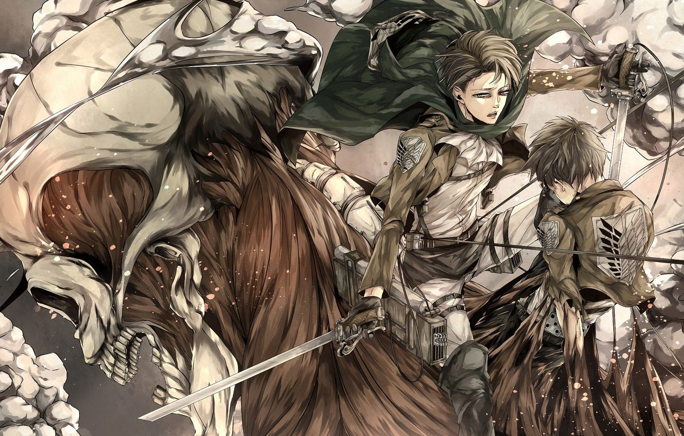 Eren Yeager Wallpapers Top Free Eren Yeager Backgrounds Wallpaperaccess