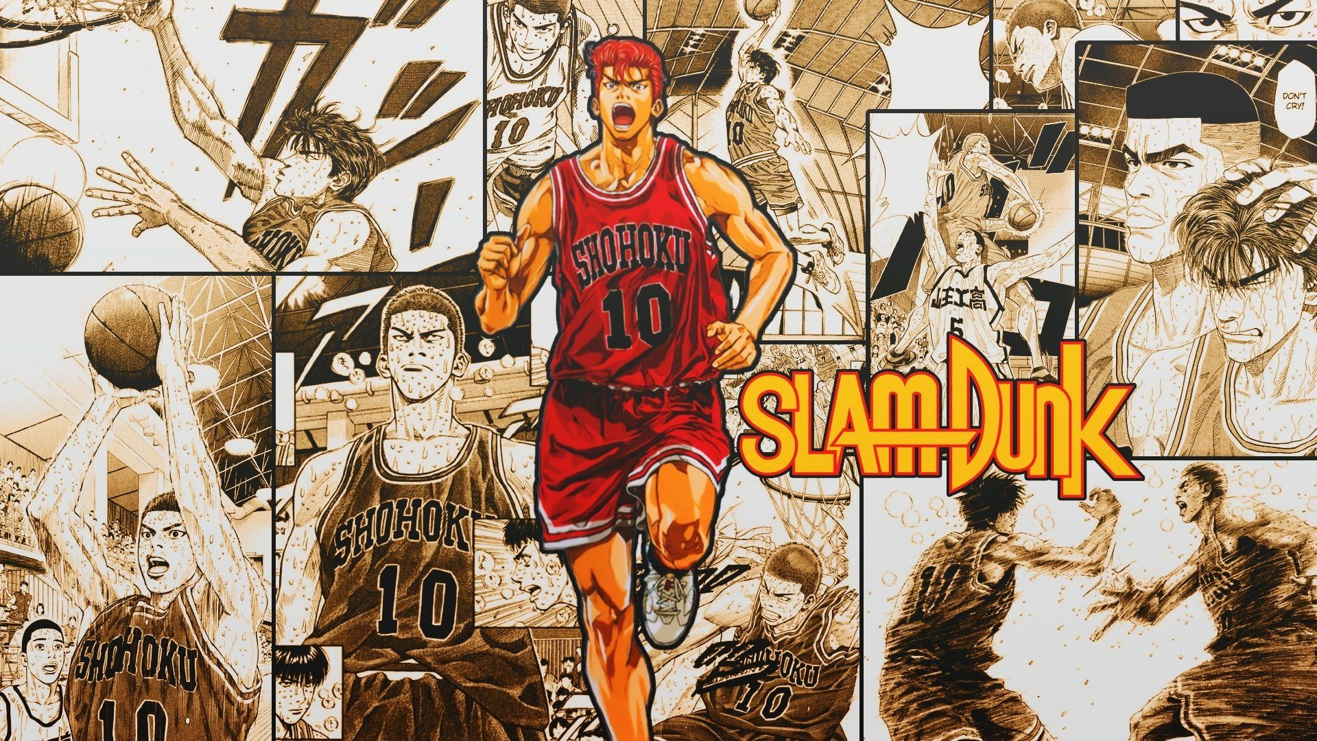 Slam Dunk Wallpapers Top Free Slam Dunk Backgrounds