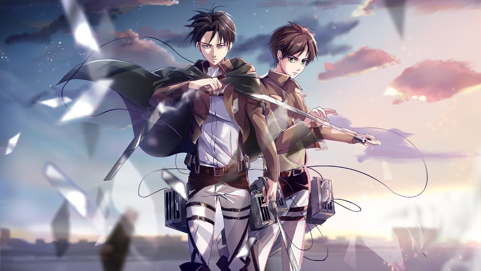 Eren And Levi Wallpapers Top Free Eren And Levi Backgrounds