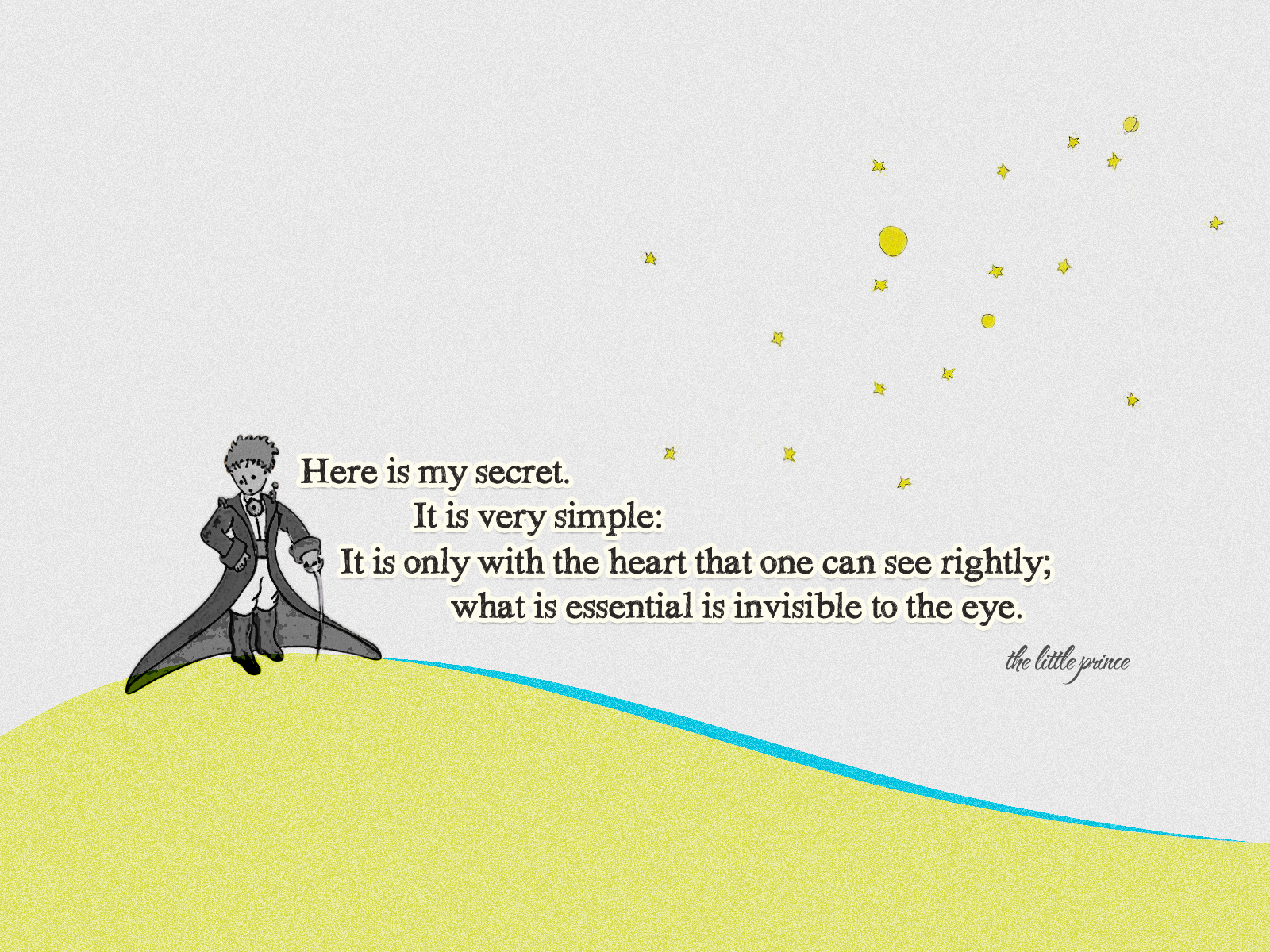 Little Prince Quotes Wallpapers Top Free Little Prince