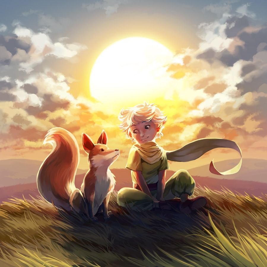 The Little Prince Fox Wallpapers Top Free The Little Prince Fox Backgrounds Wallpaperaccess