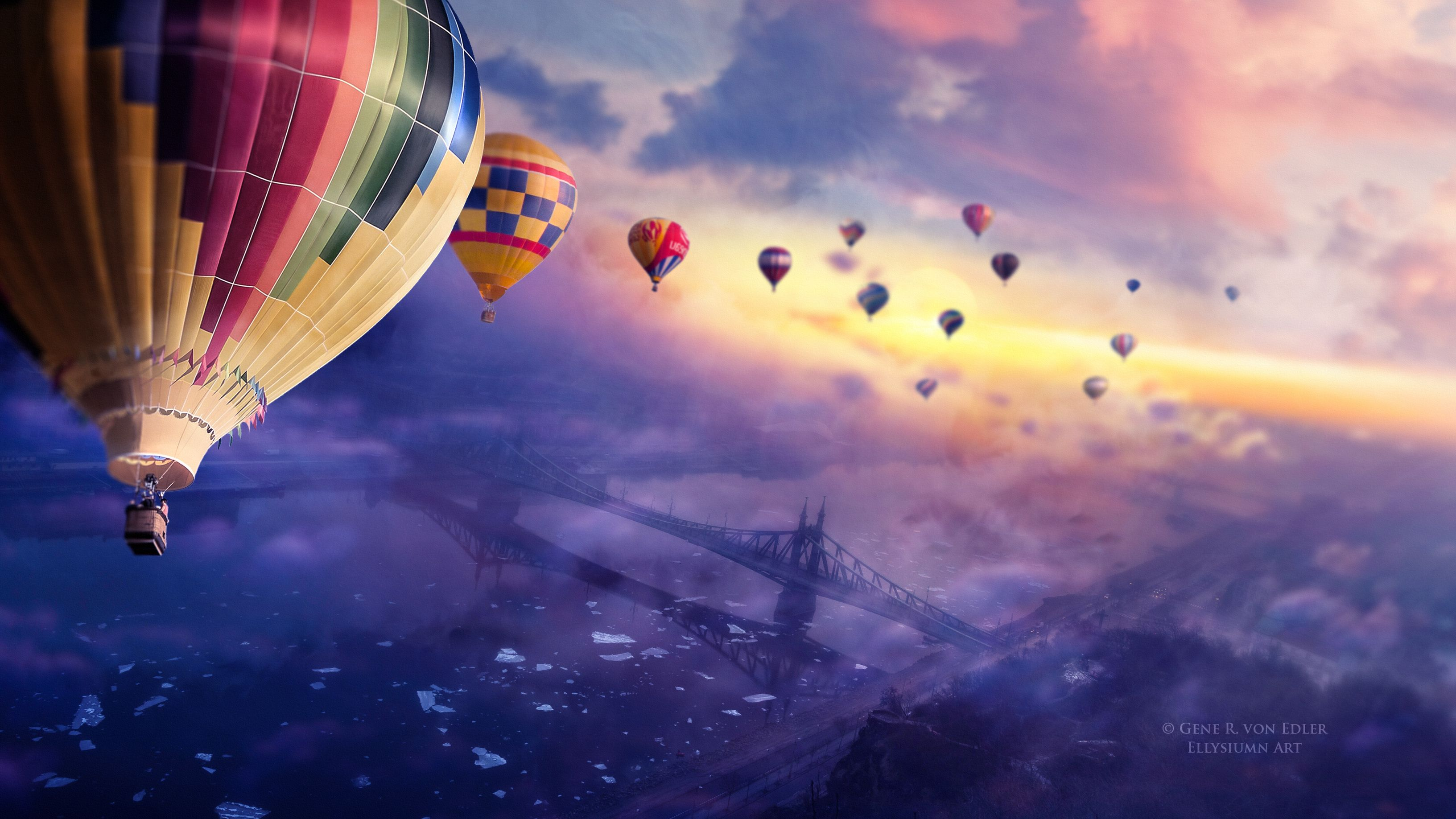High Definition Hot Air Balloon Wallpaper Hdq Pic