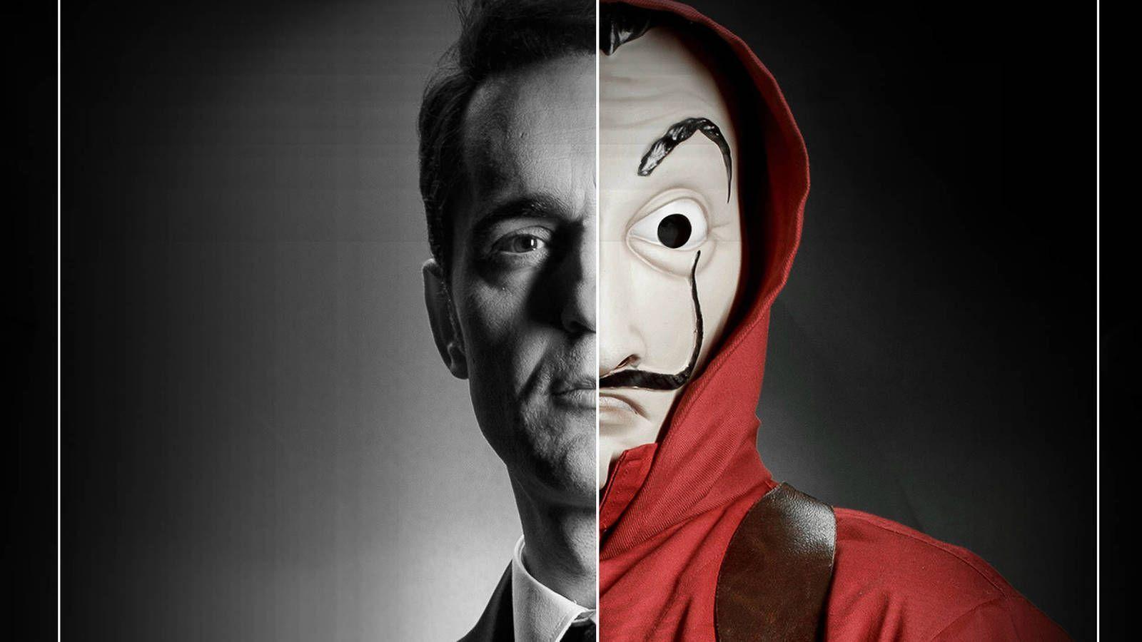 Money Heist Mask Wallpapers - Top Free Money Heist Mask ...