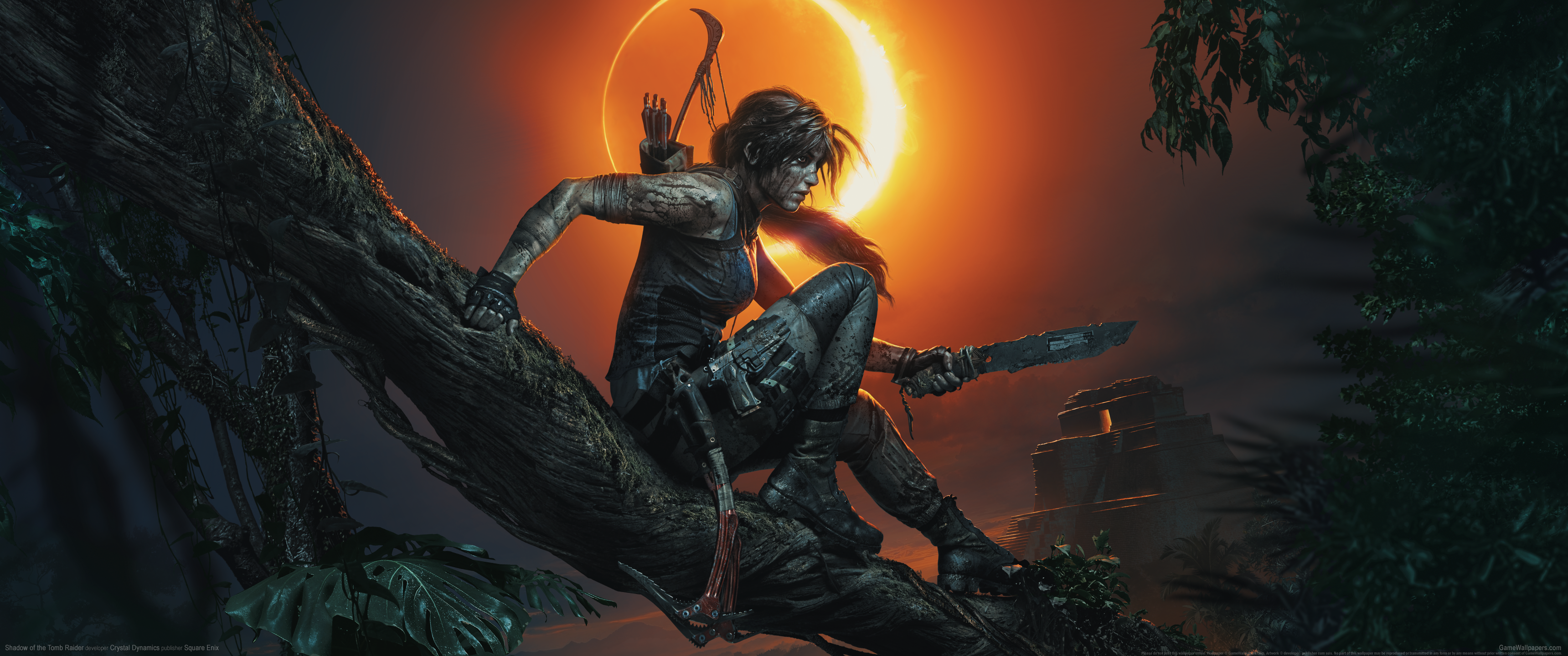 Shadow Of The Tomb Raider Wallpapers Top Free Shadow Of The Tomb
