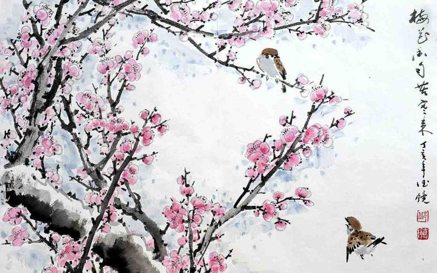 Traditional chinese paintings wallpapers top free - Ancient chinese art wallpaper ...