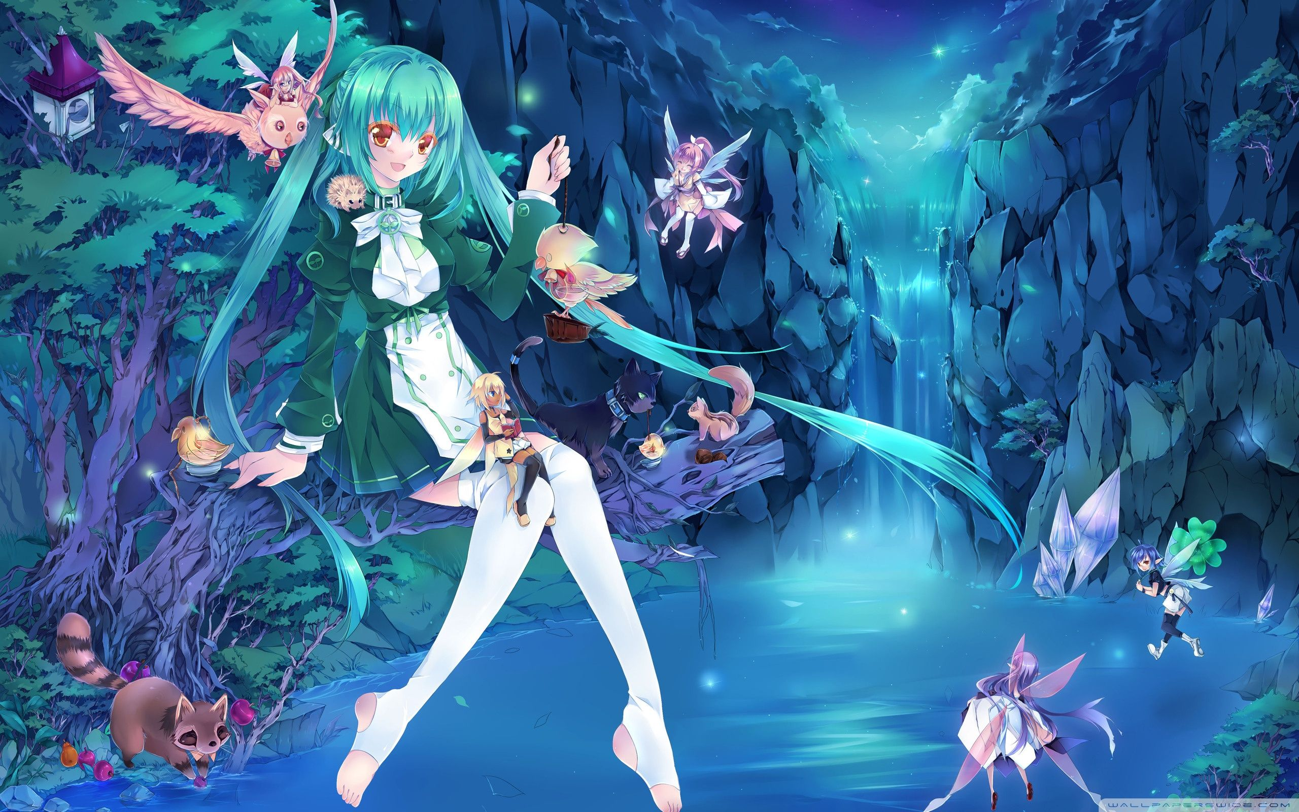 Anime Fairy Wallpapers Top Free Anime Fairy Backgrounds