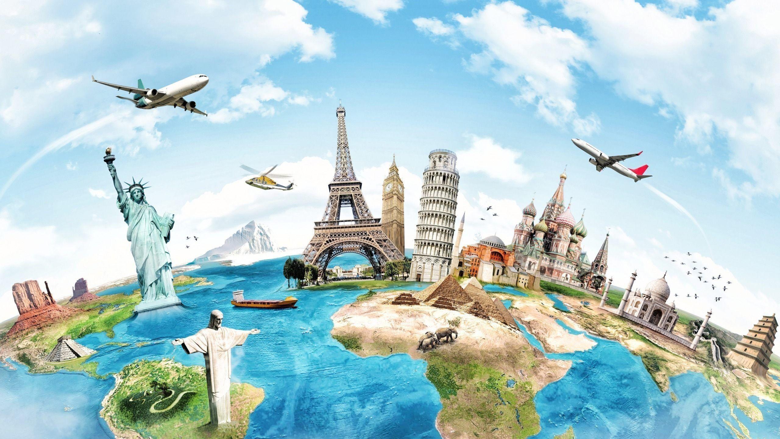 World Travel Desktop Wallpapers Top Free World Travel Desktop Backgrounds Wallpaperaccess