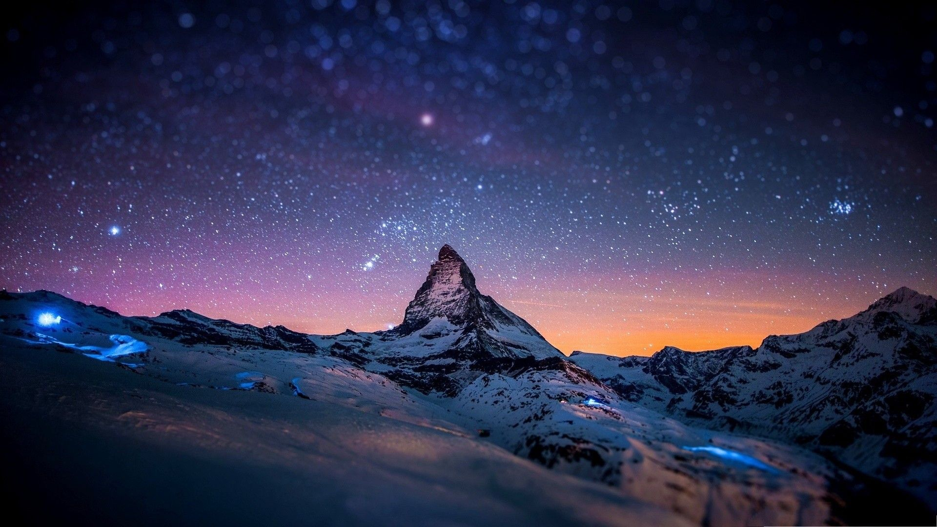 Winter Night Desktop Wallpapers Top Free Winter Night