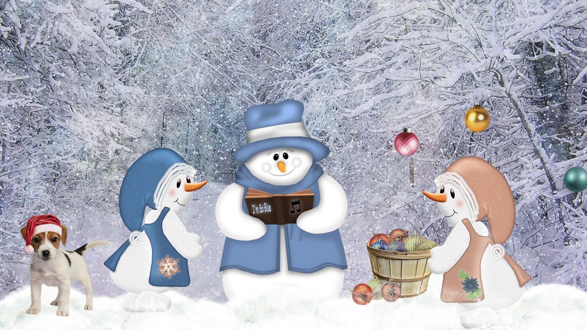 Snowman Desktop Wallpapers Top Free Snowman Desktop Backgrounds Wallpaperaccess