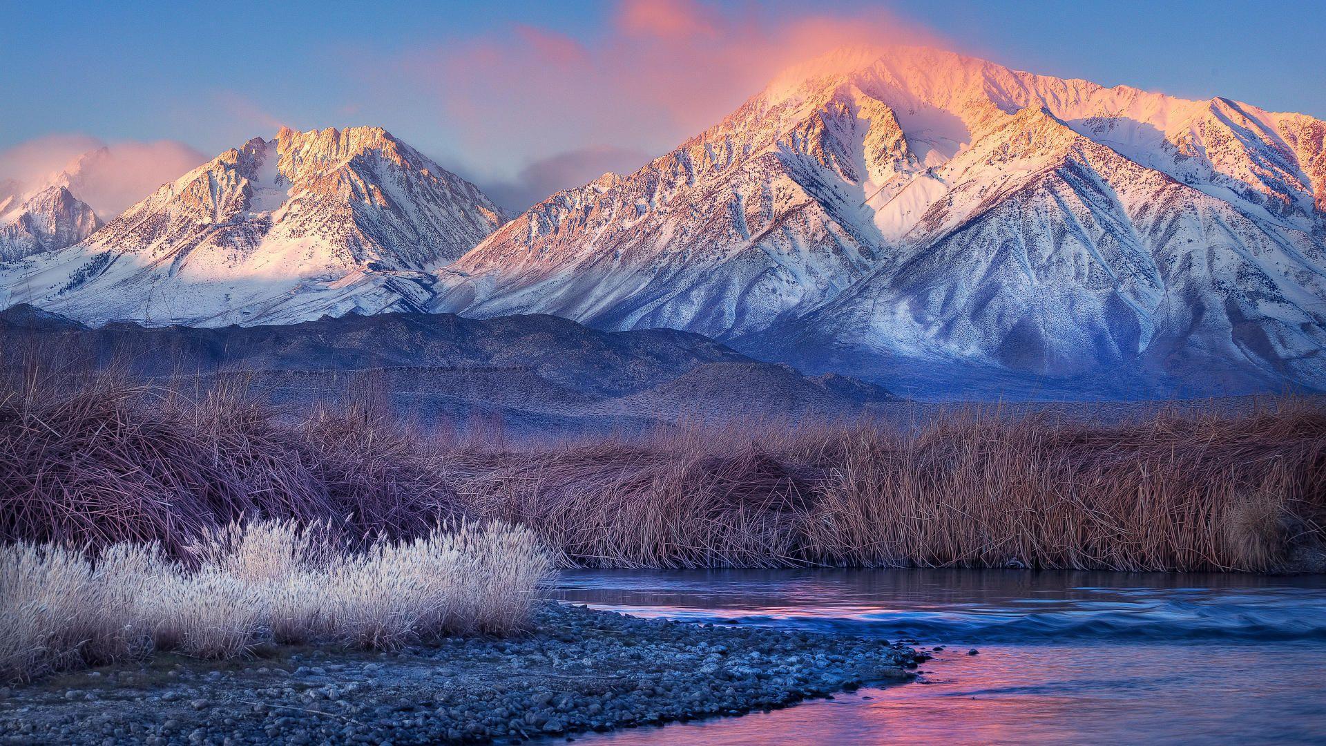 Winter mountain desktop wallpapers top free winter for Sfondi invernali desktop