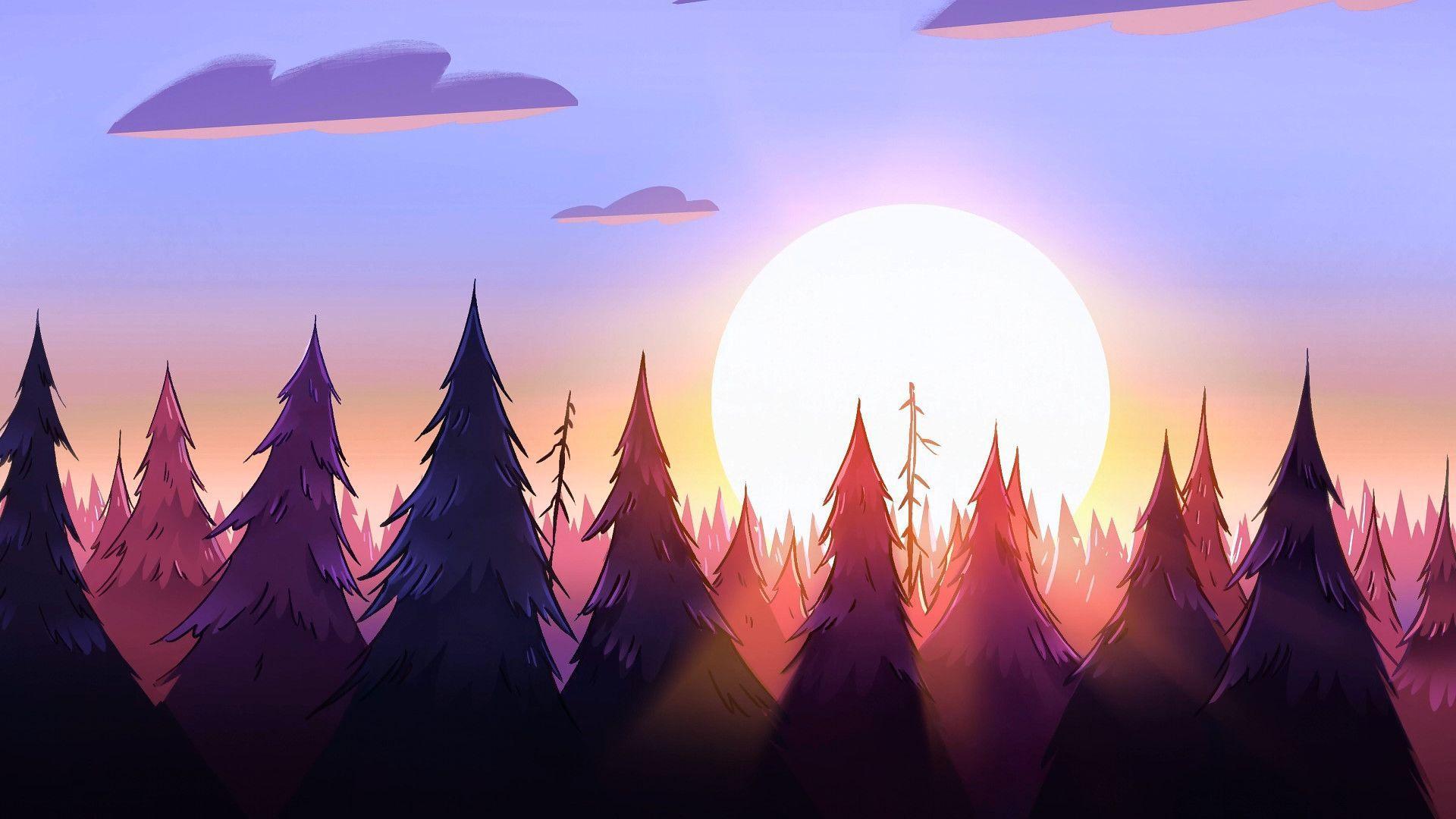 Gravity Falls Aesthetic Wallpapers Top Free Gravity Falls
