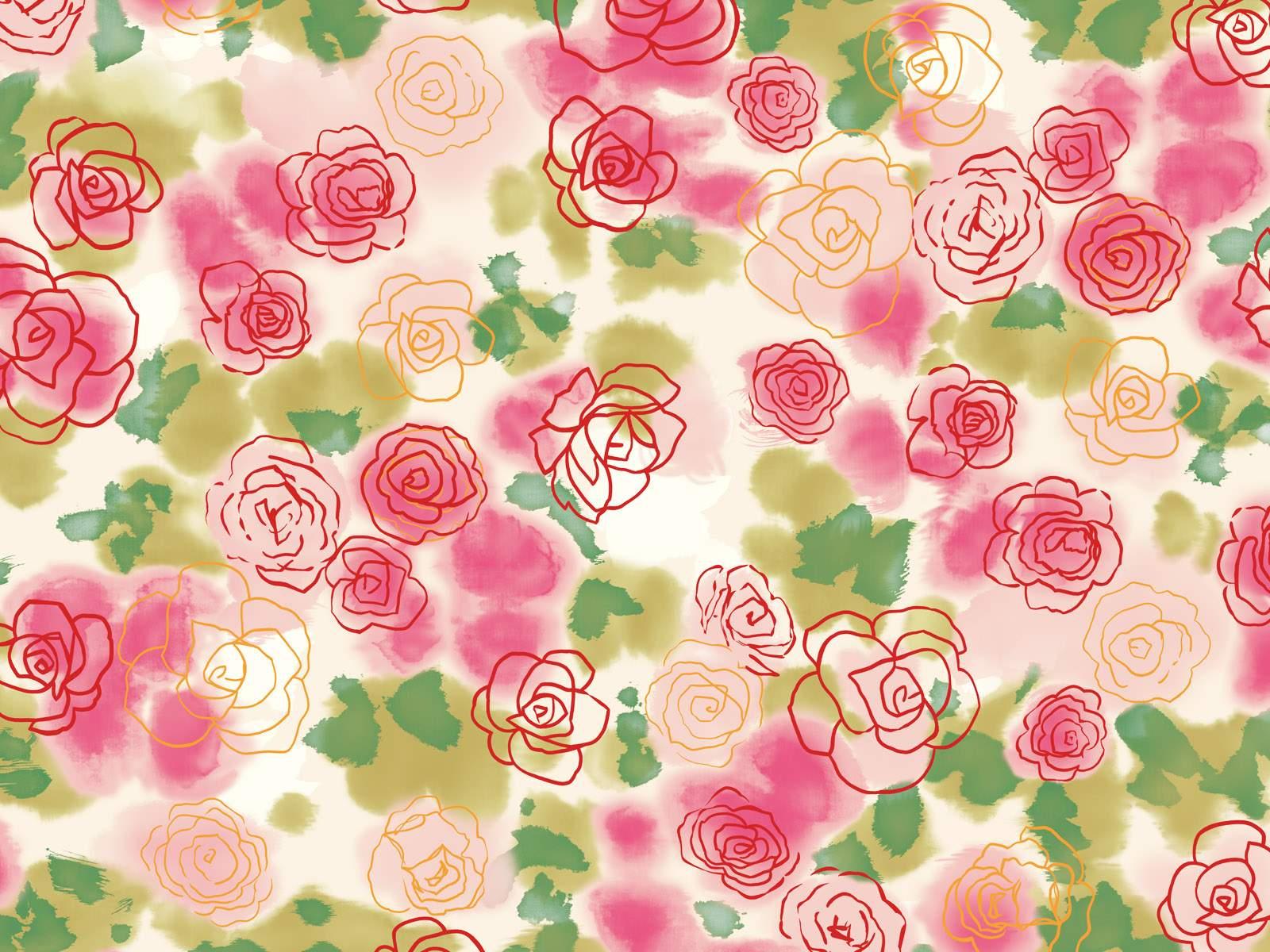 Watercolor Flowers Desktop Wallpapers Top Free Watercolor