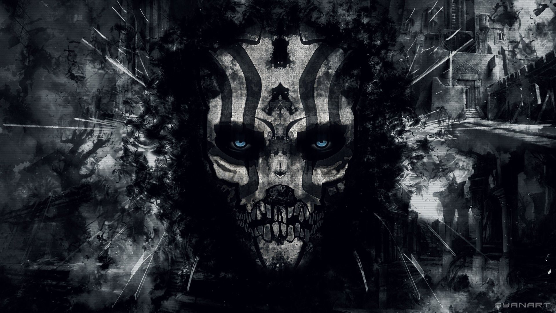 Evil Desktop Wallpapers - Top Free Evil ...