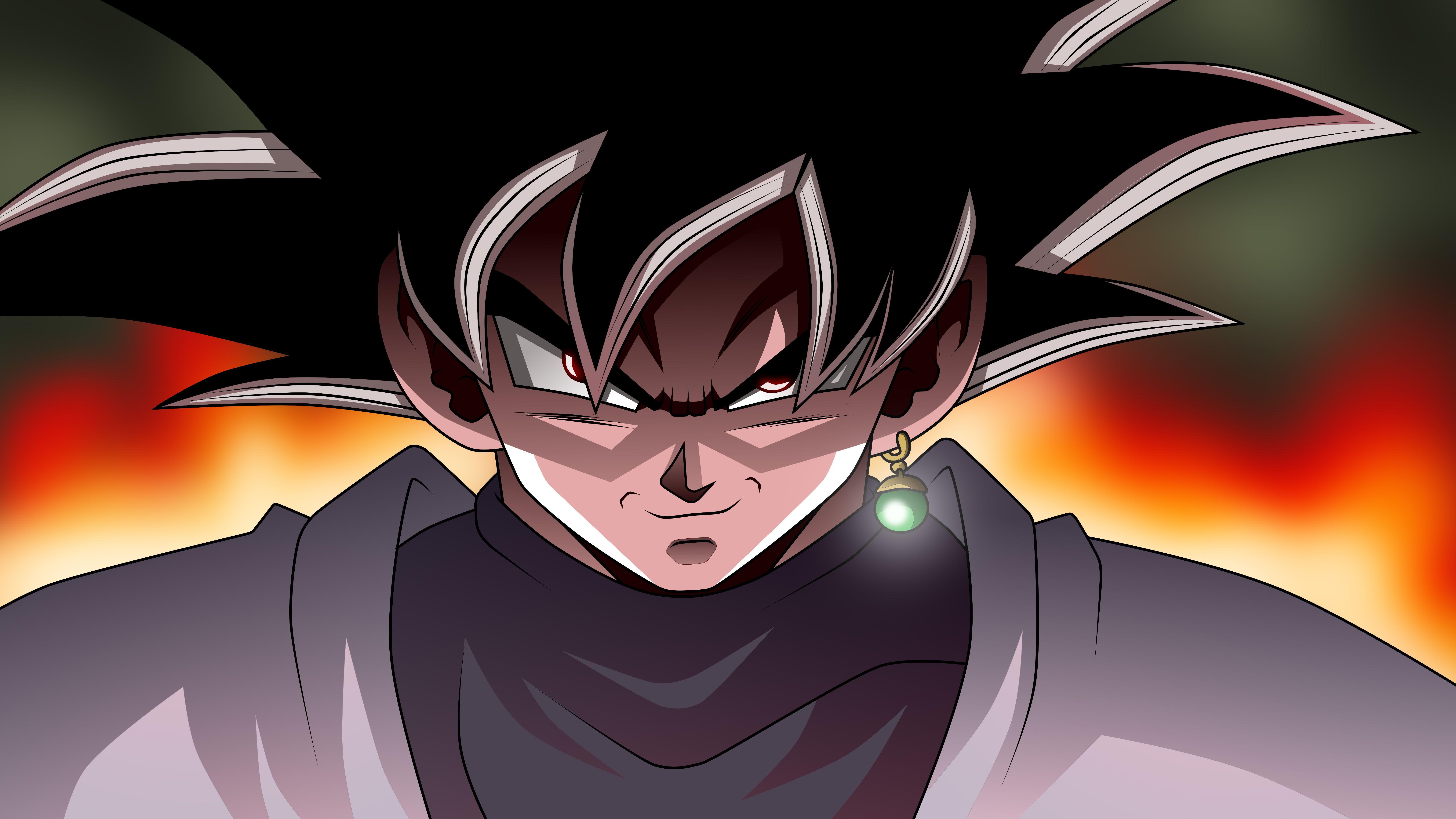 Goku Black Wallpapers Top Free Goku Black Backgrounds Wallpaperaccess