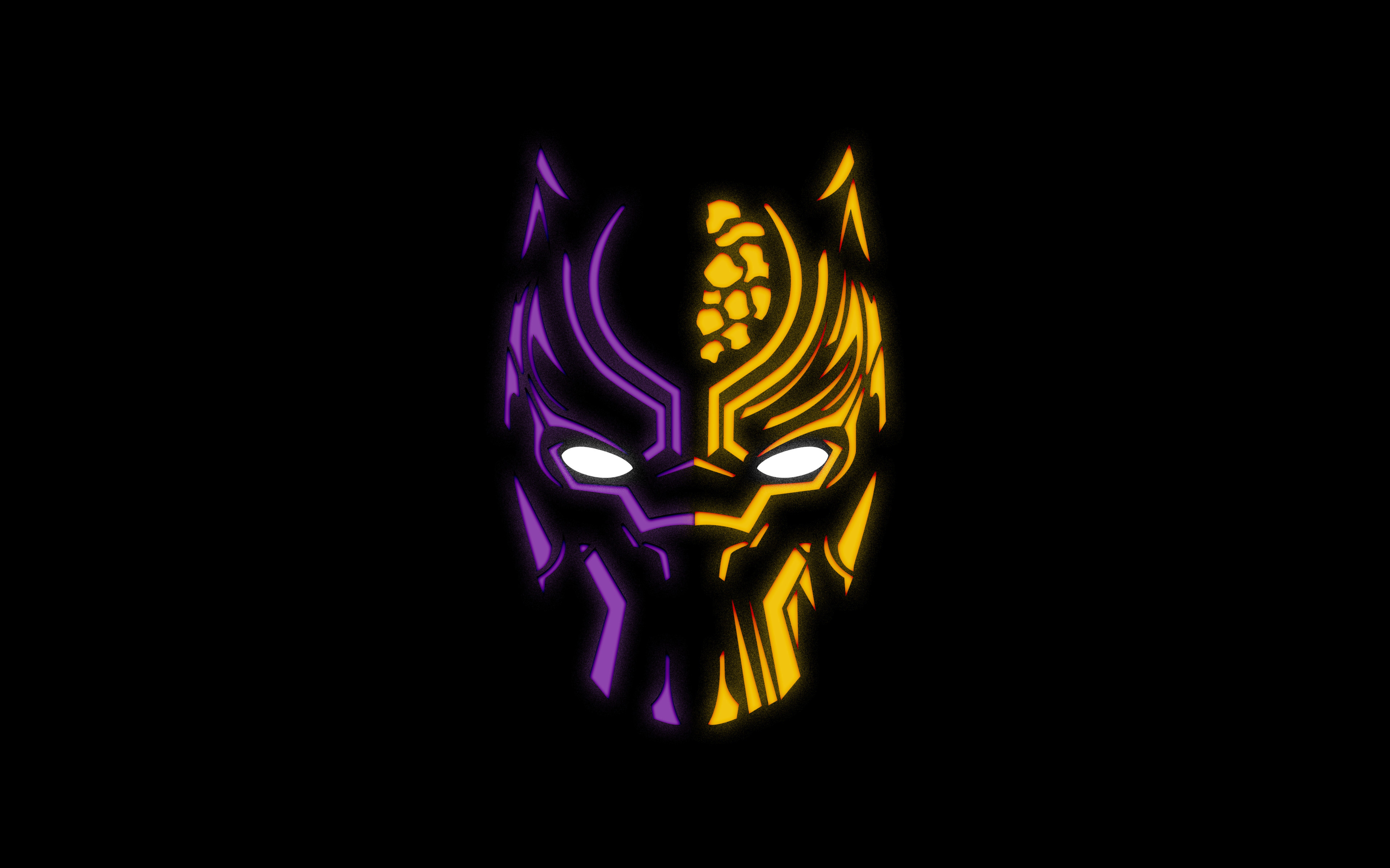 Black Panther Dual Screen Wallpapers - Top Free Black ...