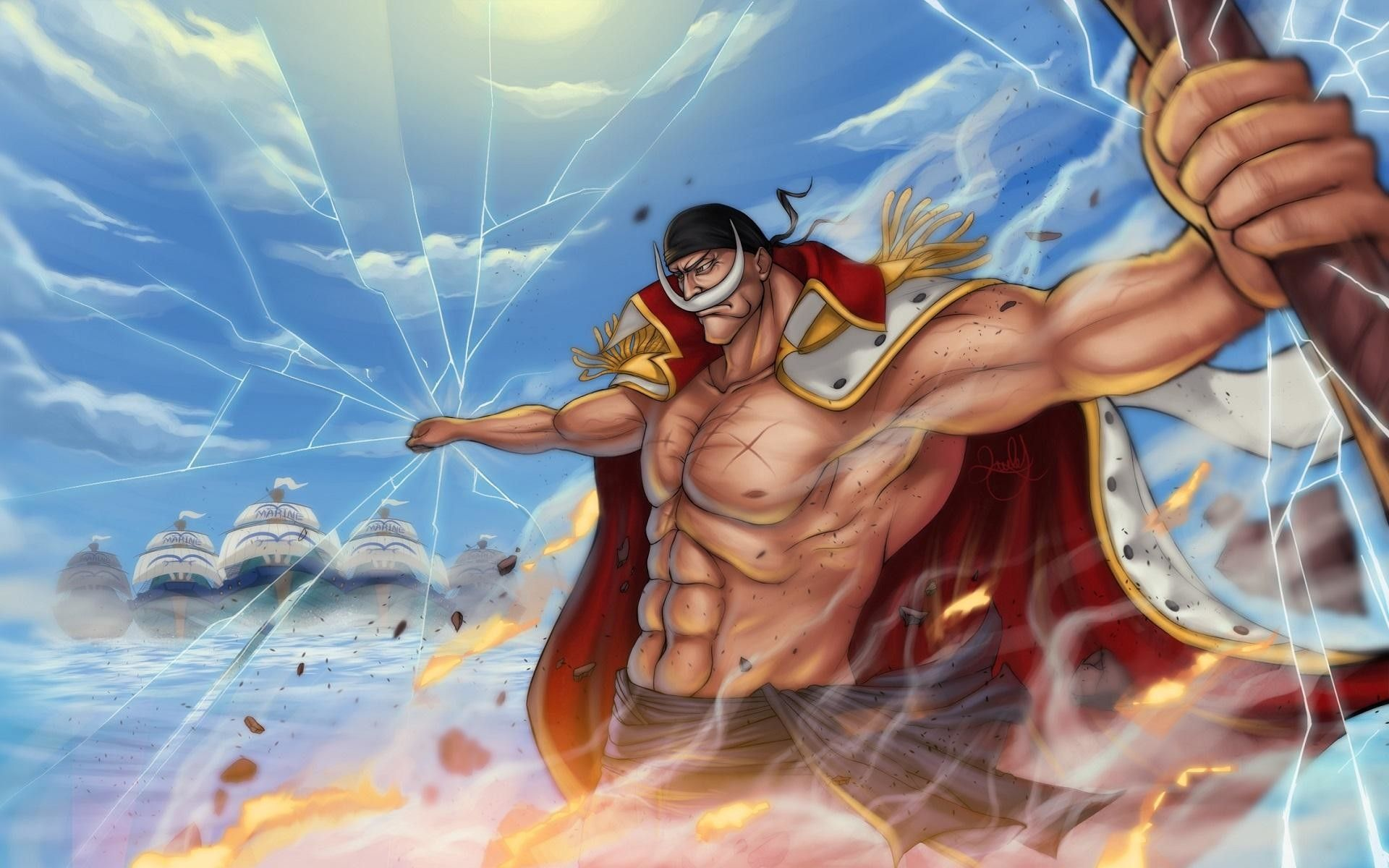 Whitebeard Wallpapers Top Free Whitebeard Backgrounds Wallpaperaccess