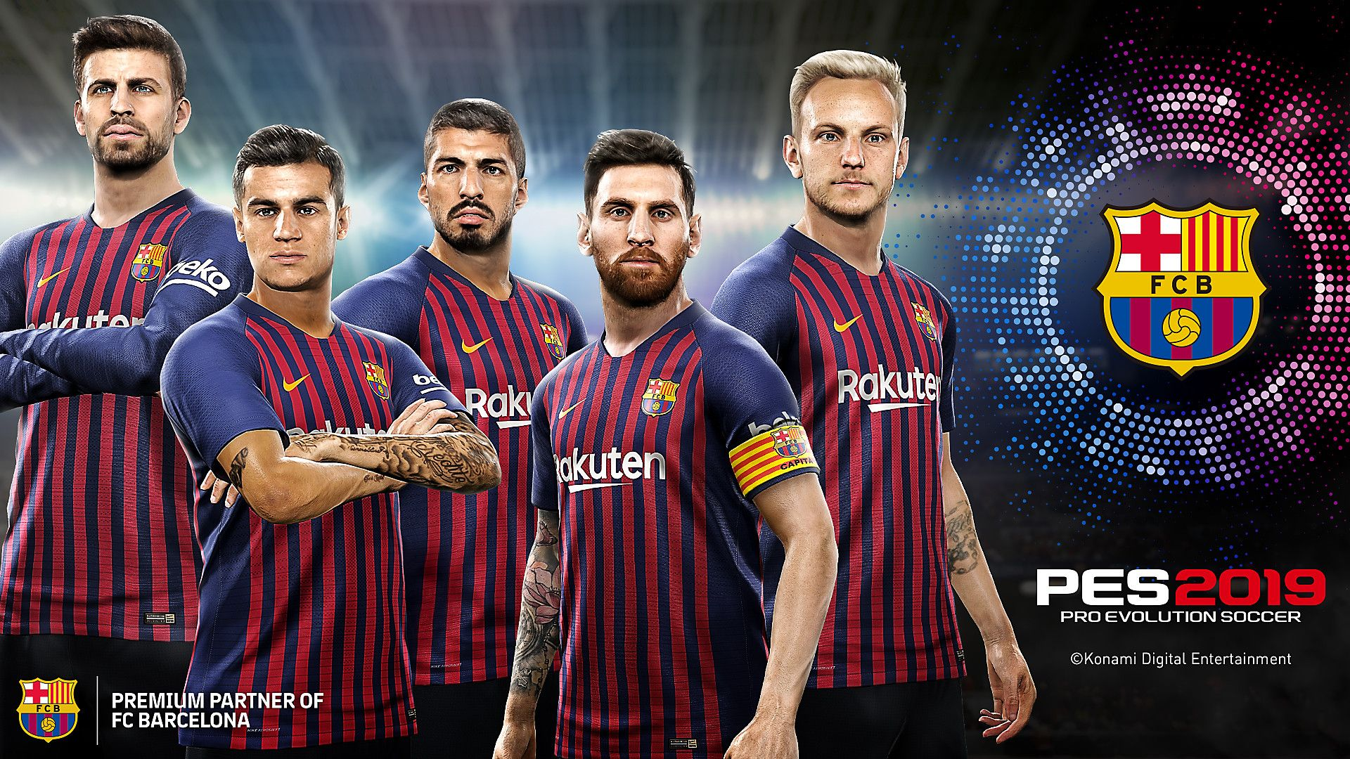 PES 2019 Wallpapers - Top Free PES 2019 Backgrounds ...