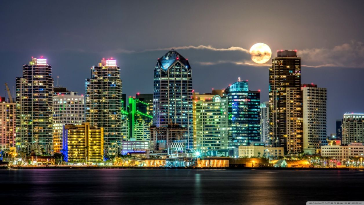 San Diego Skyline Wallpapers - Top Free San Diego Skyline Backgrounds -  WallpaperAccess