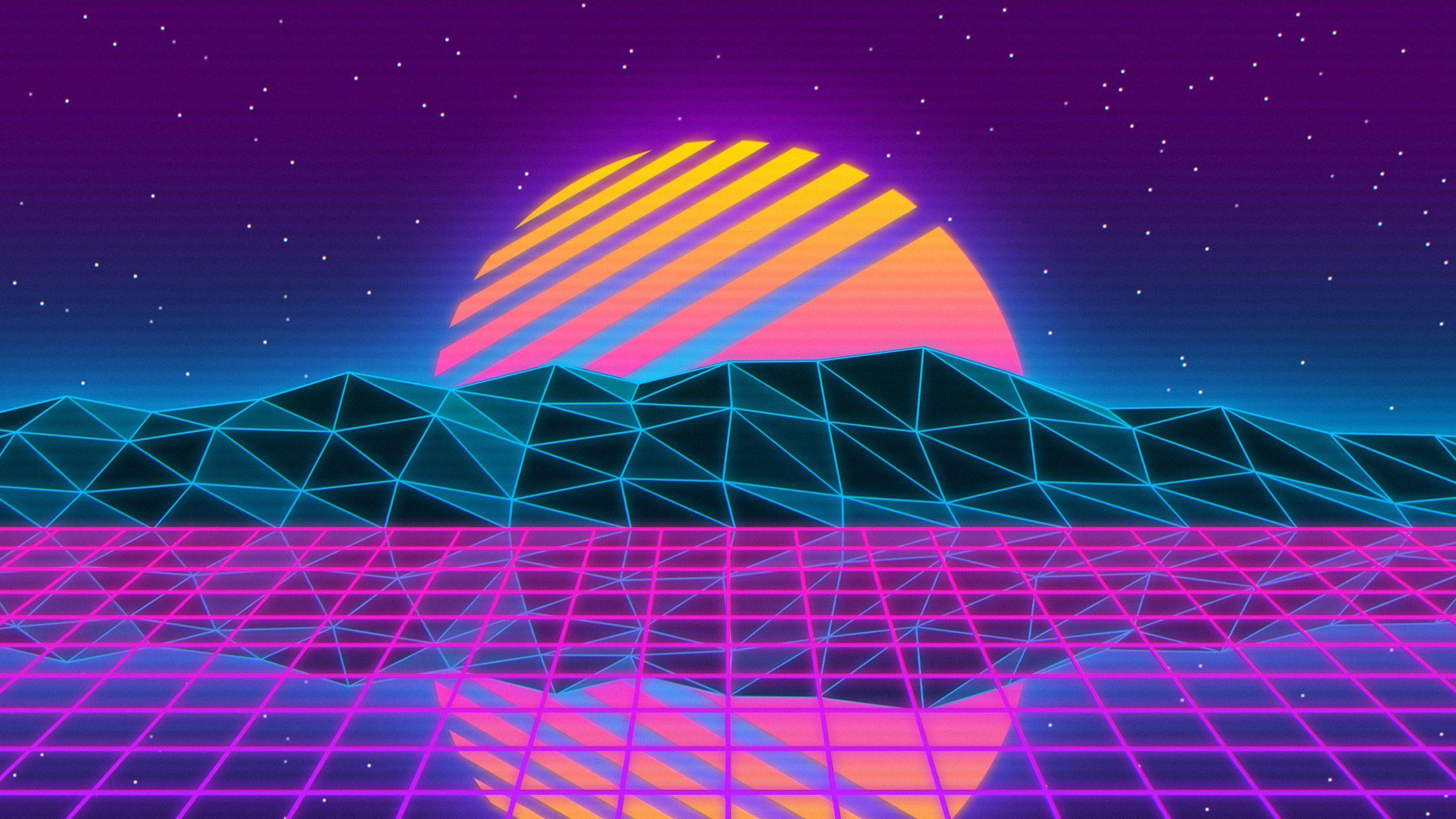30+ Vaporwave Sunset Wallpaper 4K Pictures