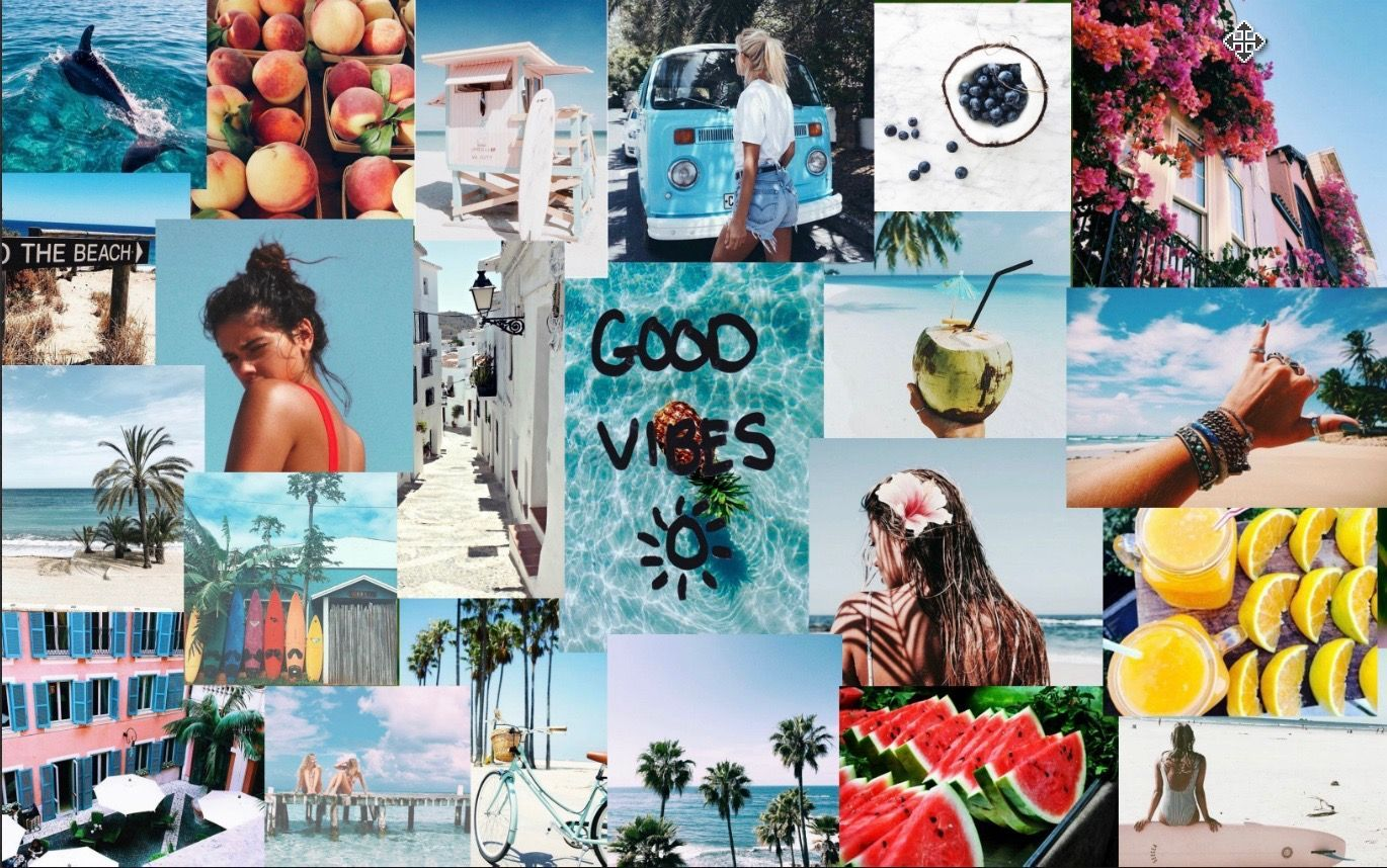 Aesthetic Collage Desktop Wallpapers Top Free Aesthetic Collage