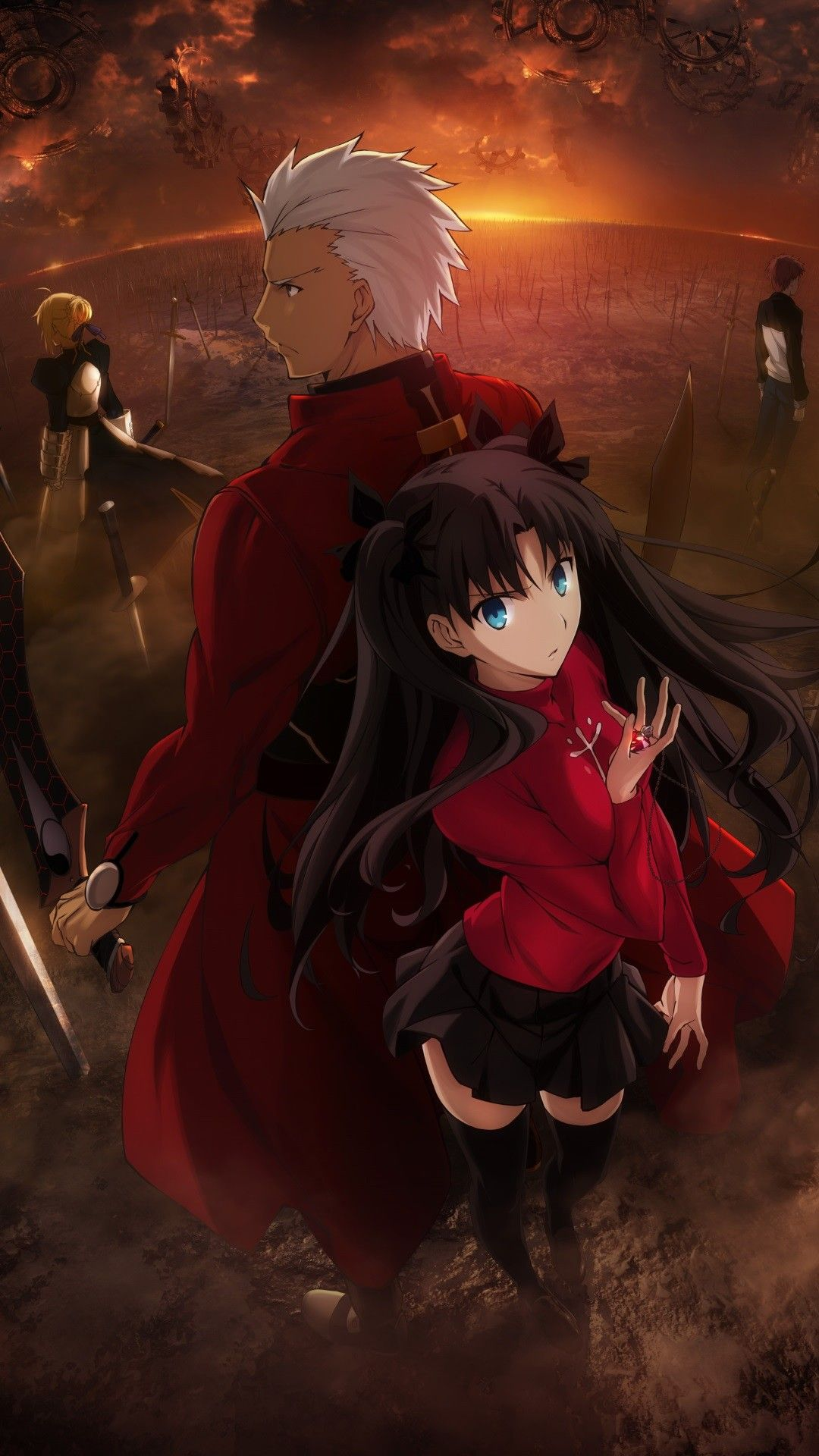 Fate Stay Night Iphone Wallpapers Top Free Fate Stay Night Iphone Backgrounds Wallpaperaccess