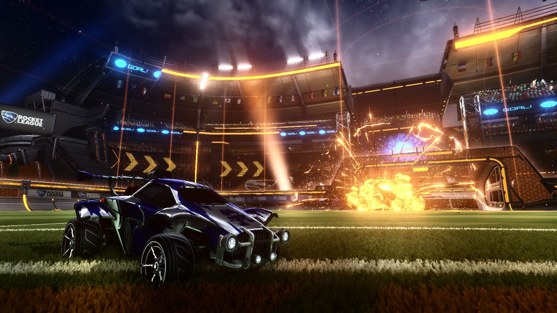 Rocket League Wallpapers Top Free Rocket League