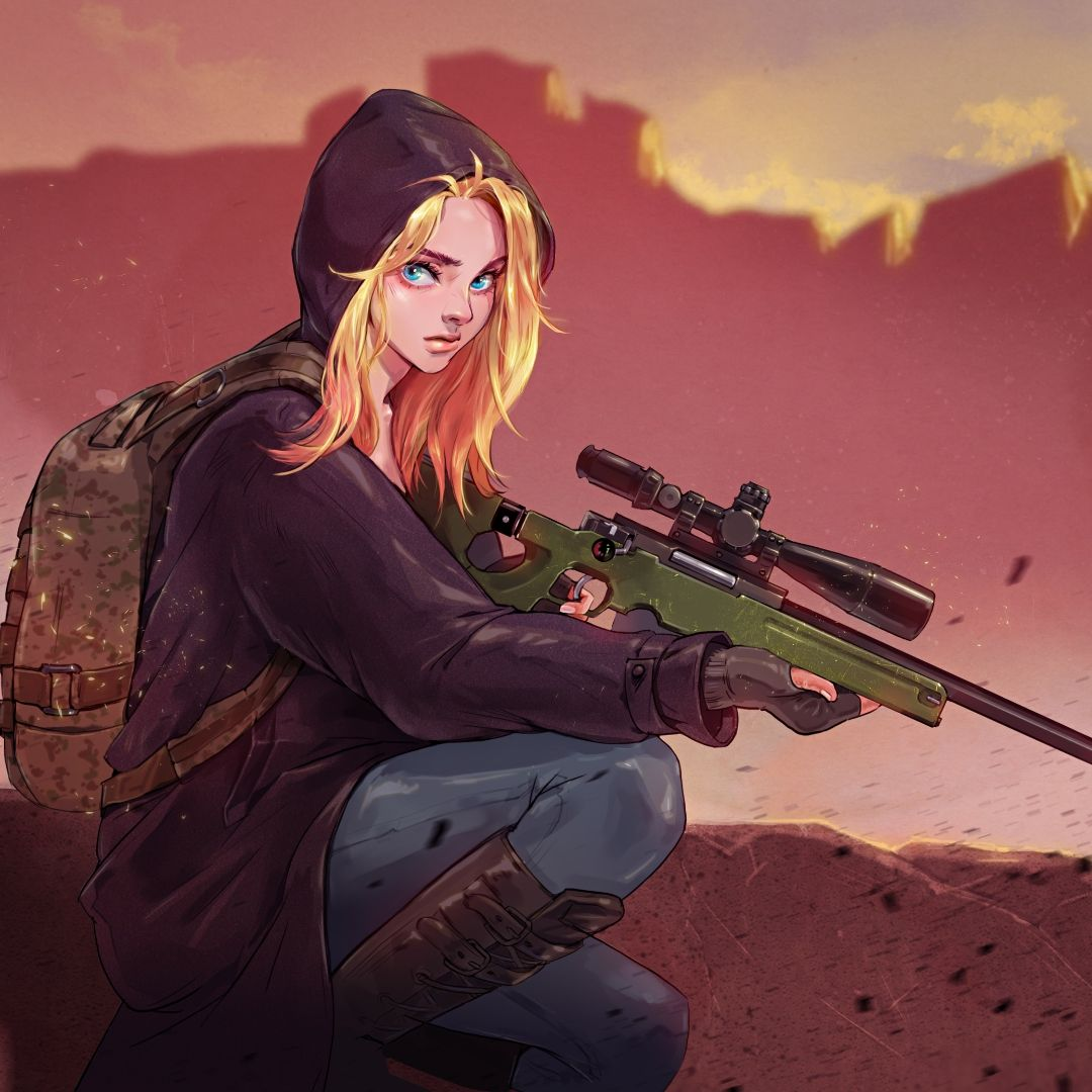 Top Free PUBG Girl Backgrounds