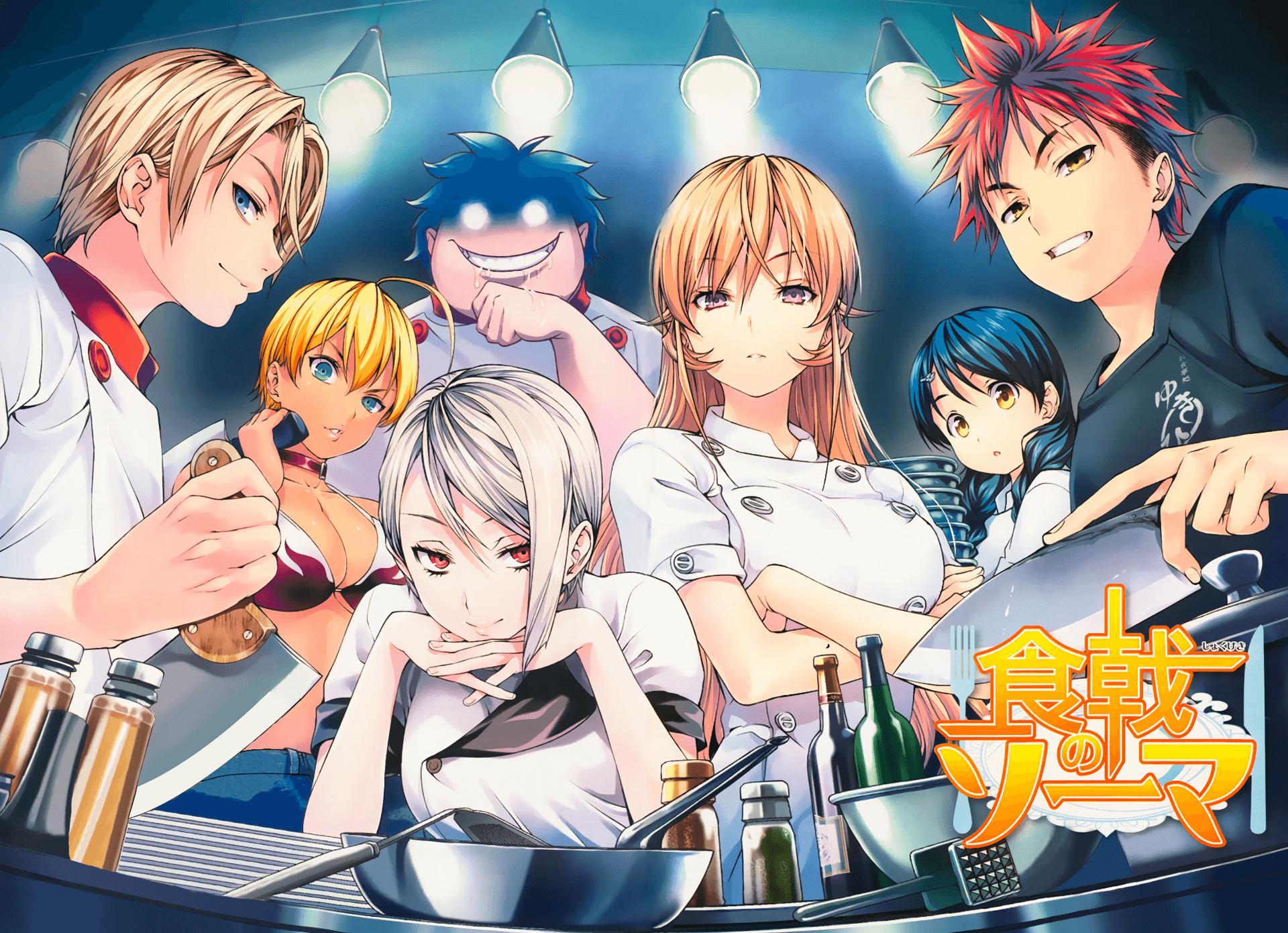 Food Wars Anime Wallpapers - Top Free Food Wars Anime ...