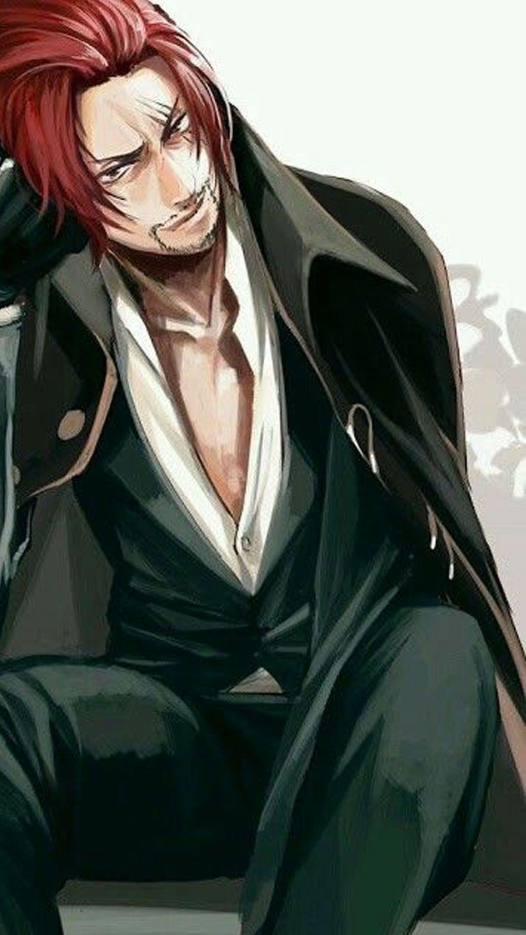 Akagami Shanks One Piece Wallpaper HD 4k