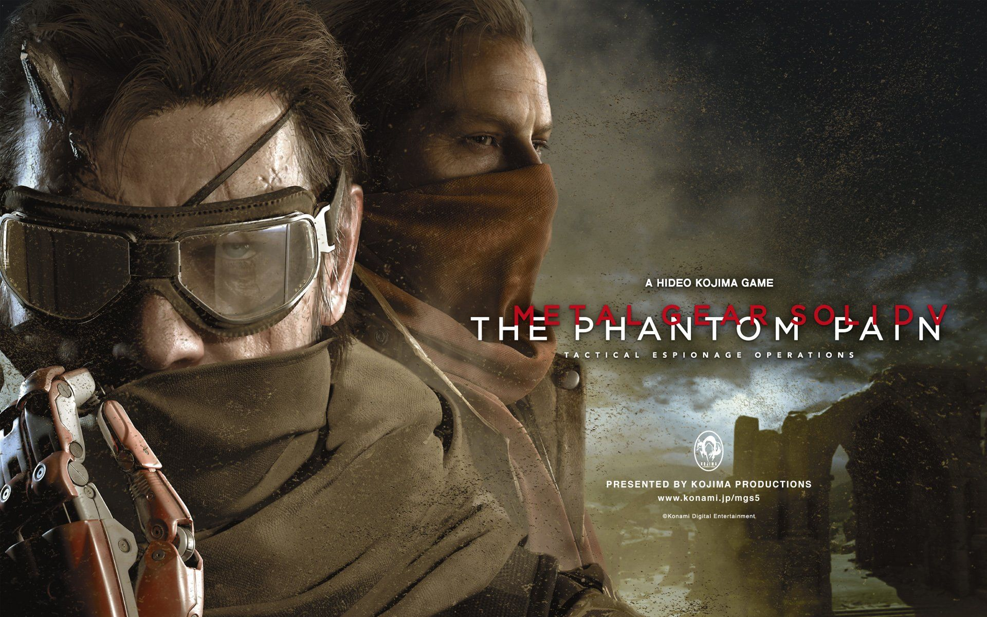 Phantom Pain Wallpapers Top Free Phantom Pain Backgrounds